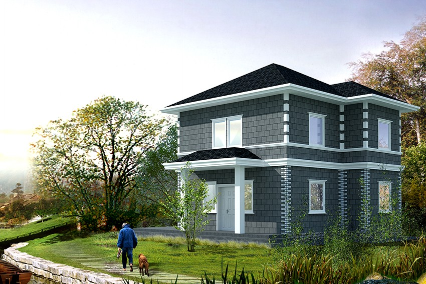 New design two storey villa
