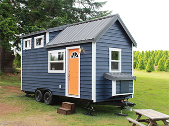 Tiny House With Trailer