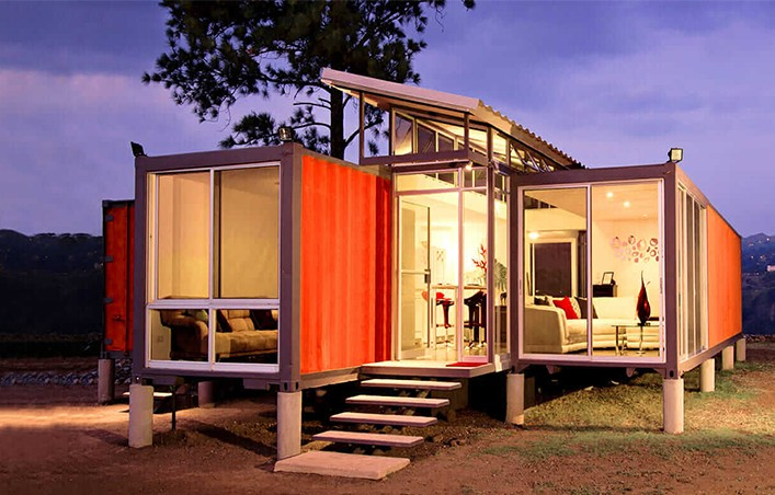 luxury modified shipping container homes