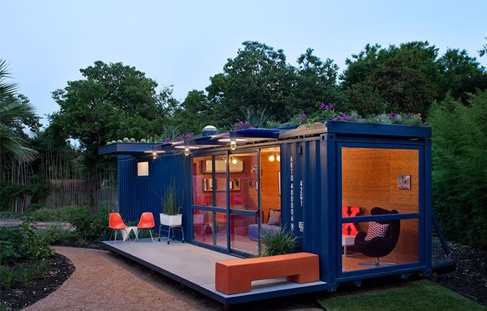 prefab shipping container guest homes