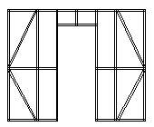 Cold-formed Steel Frame Wall Frame