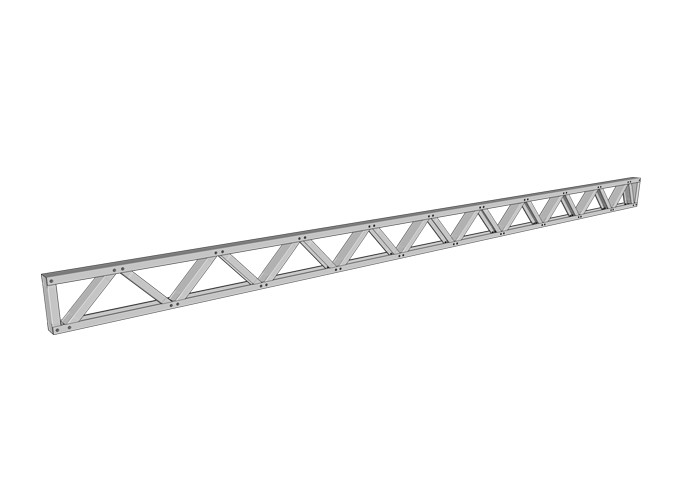 Light Gauge Steel Floor Truss